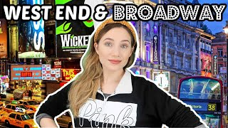 DIFFERENCES BETWEEN WORKING ON BROADWAY & THE WEST END | (CONTRACTS, WAGES & MORE) | Georgie Ashford