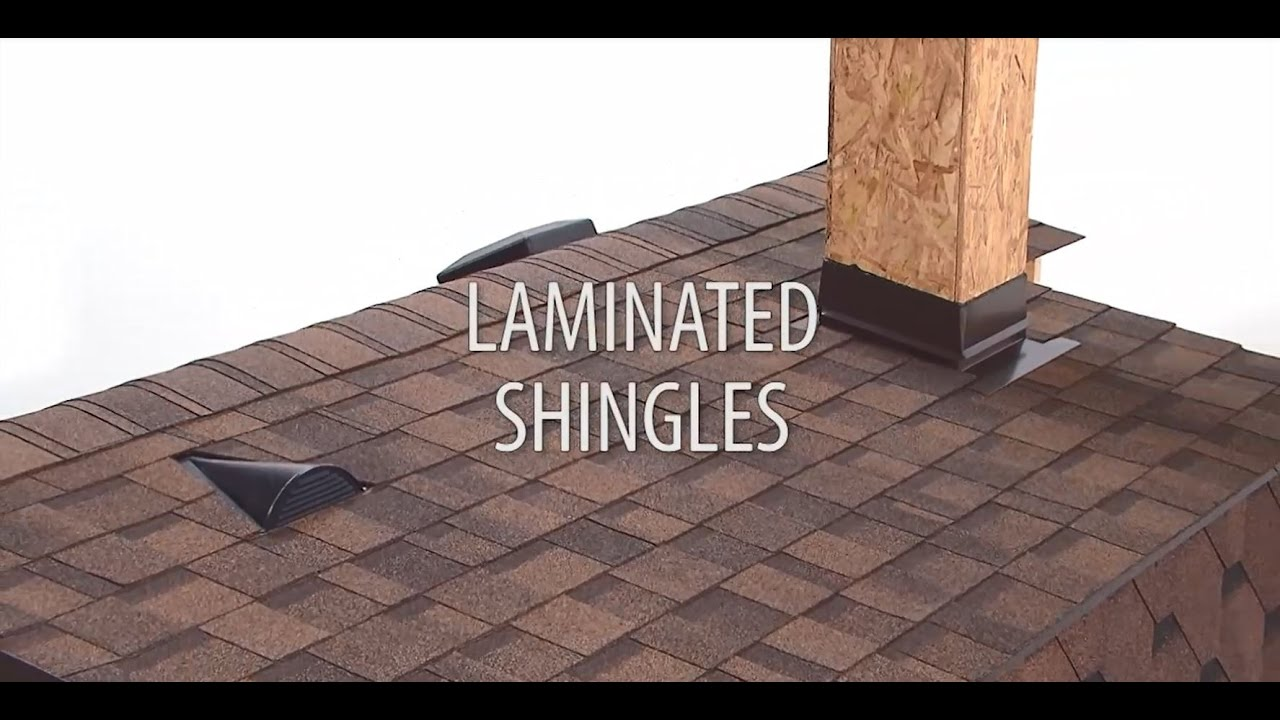 Installing Laminated Roof Shingles Youtube