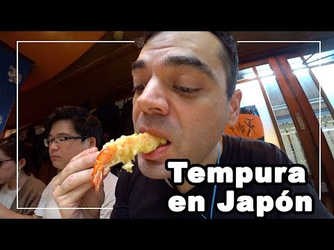 🇯🇵 Probando tempura en Japón    Riken's Life