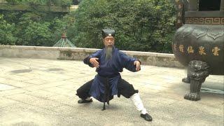 Вторая большая форма Тайцзицюань Школы Драконовых Врат. Даосский наставник Ли Фа Цзюнь в 75 лет.