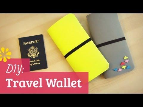 DIY Travel Wallet | Sonia's Travels Collab | Sea Lemon