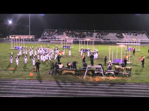 2013-10-19 LHS Marching Band, Eldersburg, MD