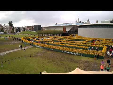 Opening New Entrance Van Gogh Museum - Amsterdam 06-sep-2015
