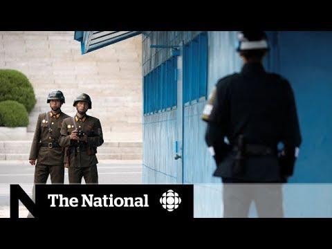 Olympics bring peace to Korea's demilitarized zone