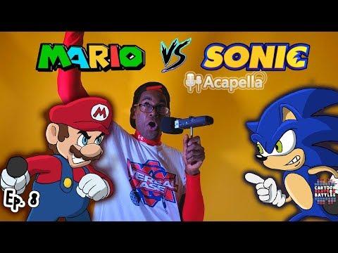 Mario Vs Sonic Live - Cartoon Beatbox Battles