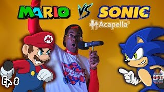 Mario Vs Sonic Live - Cartoon Beatbox Battles
