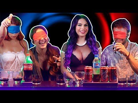 YouTubers Comparan Ep. 1 | Coca cola VS Pepsi