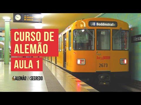 Curso de Alemão A1 - Aula 1 - Hallo! Mein Name ist...