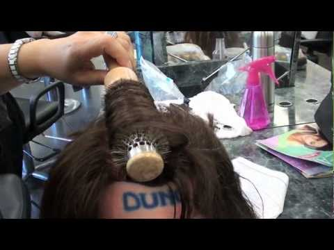 COSMETOLOGY; BLOW DRY STYLING DEMO for STATE BOARD