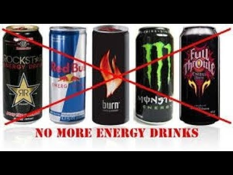 Why I stopped drinking energy drinks like Rockstar, Red Bull, and Monster and diet coke