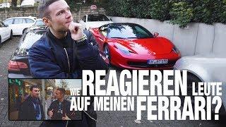 Wie reagieren Leute auf einen Ferrari | inscope21
