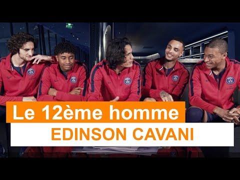 How french are you ? Edinson Cavani !