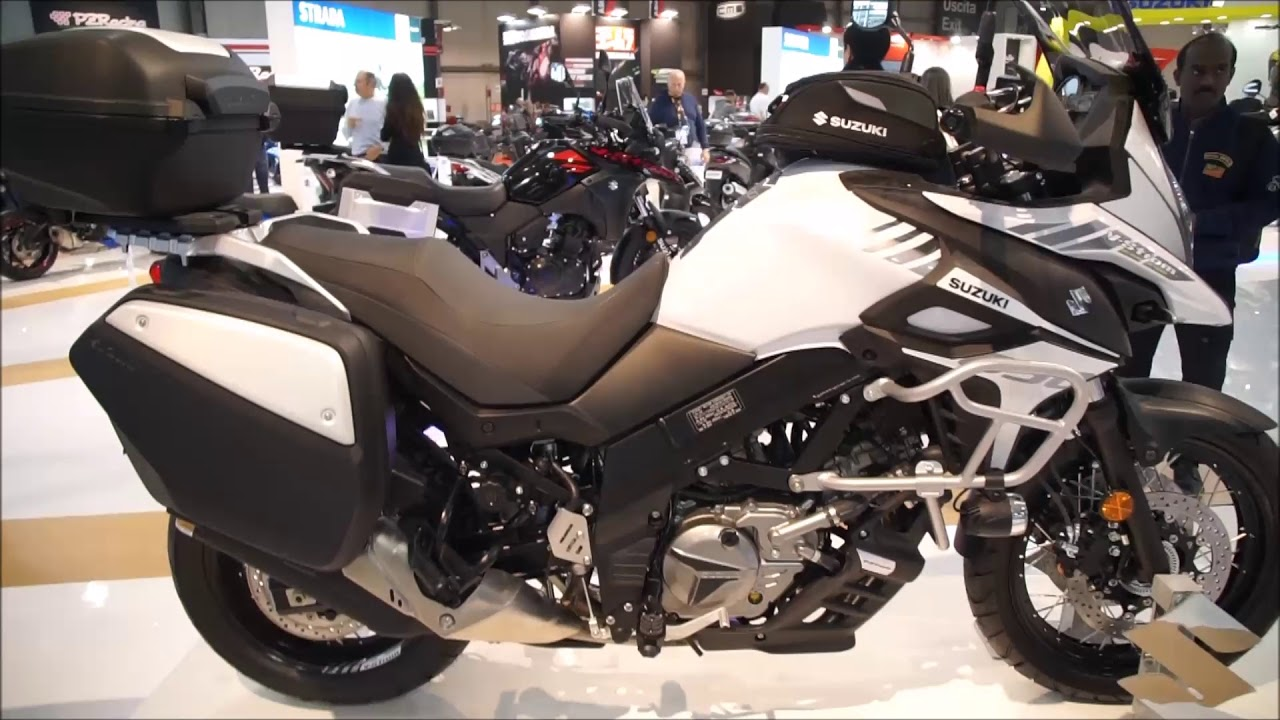 new suzuki v strom 650 model 2018 youtube. Black Bedroom Furniture Sets. Home Design Ideas