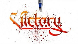 Amazing Gothic Calligraphy Compilation x Lalit Mourya
