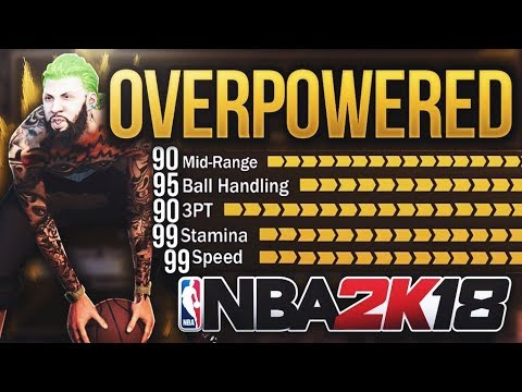 My ARCHETYPE Could BREAK the GAME | OVERPOWERED POINT GUARD BUILD - NBA 2K18 DEMIGOD CREATION