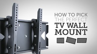 How To Pick the Perfect Wall Mount