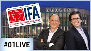 01LIVE #152 : découvrez les nouveautés du salon de Berlin IFA 2017 !