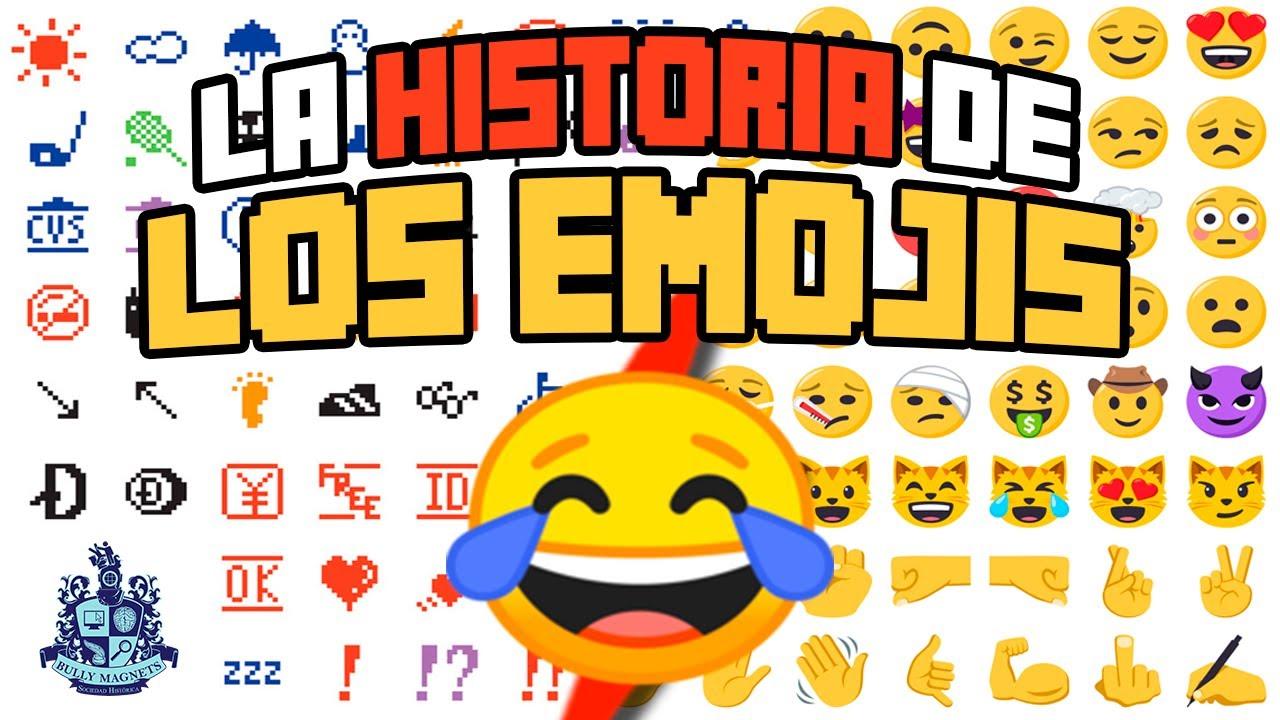 La historia de los emojis - Historia Bully Magnets