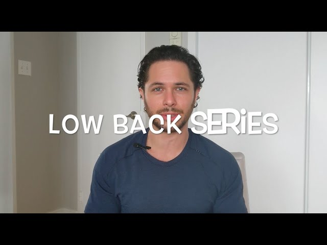 Low Back Mobility Series