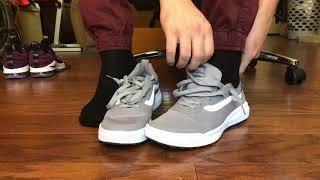 Vans UltraRange RapidWeld Grey on foot