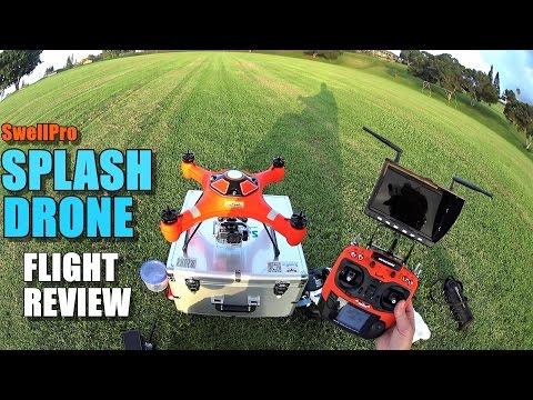 SwellPro SPLASH DRONE (Waterproof Drone) - Flight Review - [Flight Test / Pros & Cons]