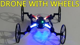 RC Quadcopter with wheels U841-1 Drone Review