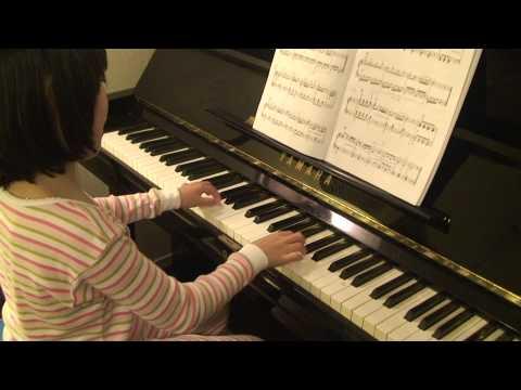 Joanna (6 Yrs) - Tobias Haslinger Sonatina In C Major 2nd Movement