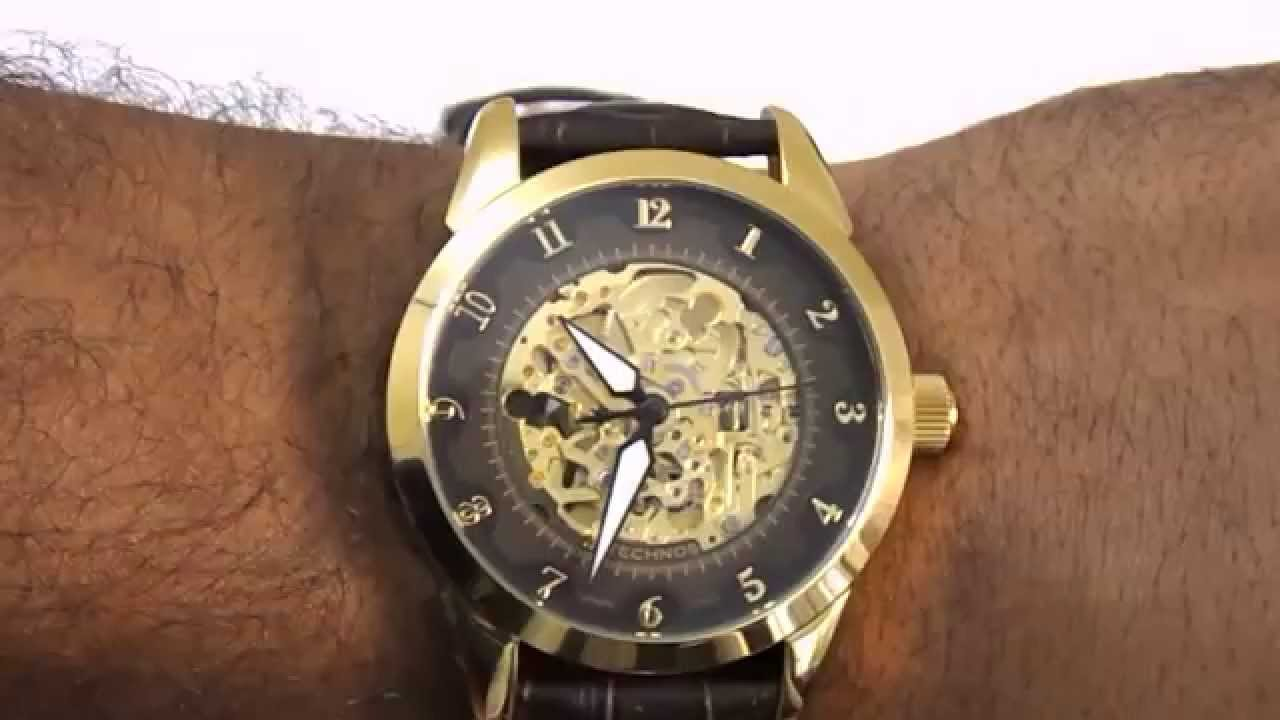 3d43a523d72 Relógio Automático Technos 8n24ab 2m - YouTube