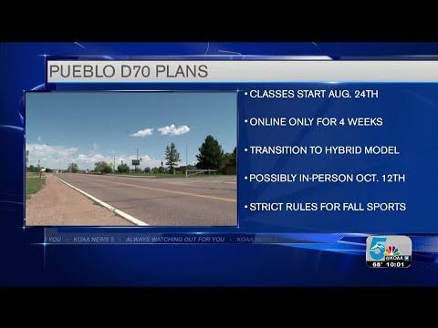 Pueblo D70 Board of Education votes to open schools remotely