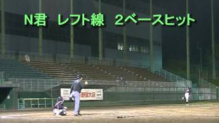第4回 夜さこい野球大会 1回戦 VS 杉本ビル ダイジェスト