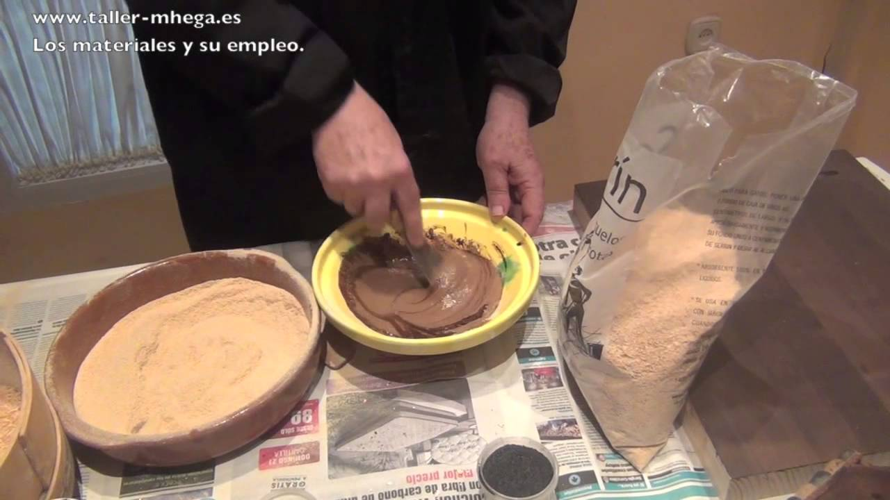 Como Hacer Masilla De Madera Youtube