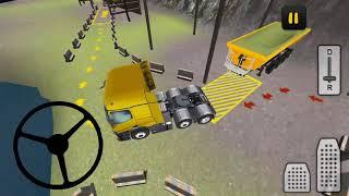Farm Truck 3D: Silage #2 Heavy truck silage tranpoert games, ट्रक परिवहन screenshot 4
