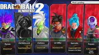 Dragon Ball Xenoverse 2 Online: GREATEST BATTLE EVER! Endless Power Struggle Between Teams!
