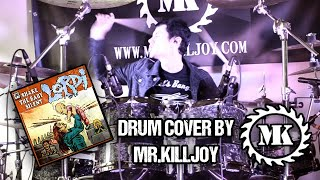 LORDI - SHAKE THE BABY SILENT - DRUM COVER BY MR.KILLJOY