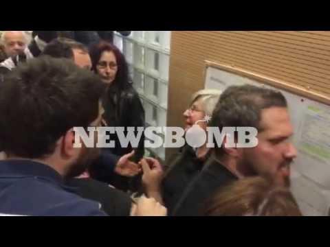 newsbomb.gr: Πλειστηριασμοί: Ένταση στο Ειρηνοδικείο Αθηνών (1)