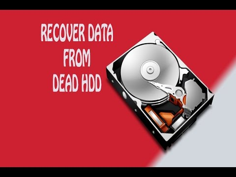 how to recover photos from dead hard drive