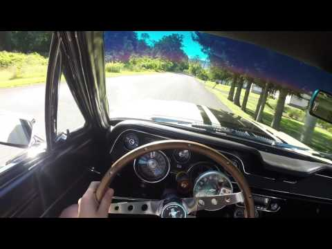 1967 Mustang POV Drive, Exhaust Sound