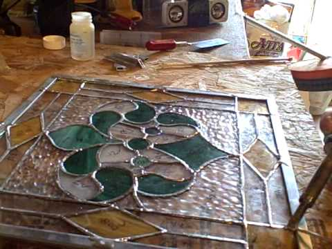Finishing Stained Glass