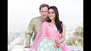 actress Preity Zinta and her husband Financial analyst  Gene Goodenough
