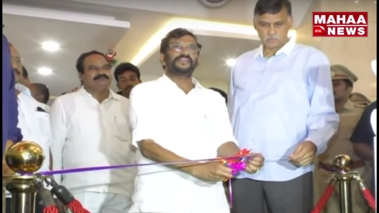 Minister Somireddy Launches Christmas and New Year Special Events at MBG Mall | Nellore | Mahaa News