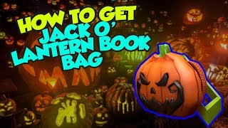 [EVENT] How To Get the Pumpkin Backpack - Roblox Halloween 2018