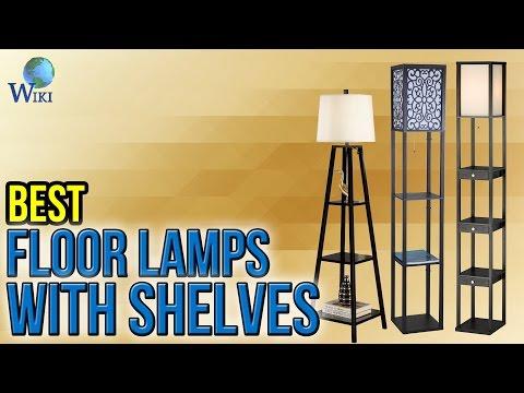 10 Best Floor Lamps With Shelves 2017