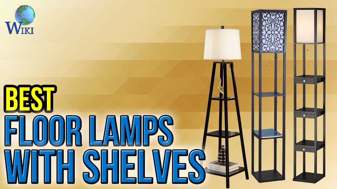 Floor Lamps With Shelves Central 2020 @house2homegoods.net