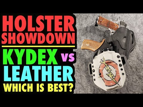 Holster Showdown! Leather vs. Kydex (Which is BEST?)