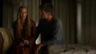 Gambar cover S4E1 Game of Thrones: Jaime & Cersei reunited.