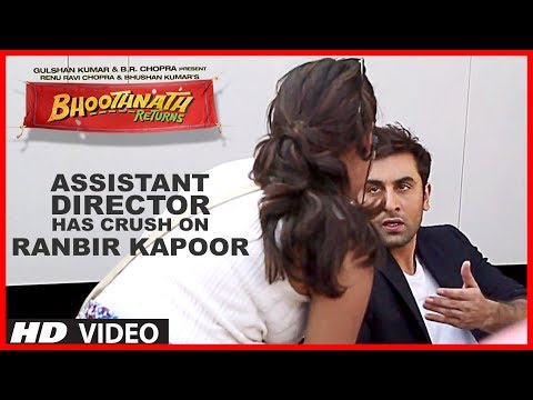 Bhoothnath Returns Assistant Director Has Crush On Ranbir Kapoor | Exclusive Video