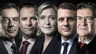 اليوم مناظرة تليفزيونية بين الخمسة الكبار في الانتخابات الفرنسية