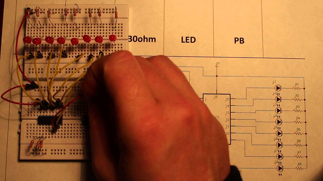 Ls138 3 To 8 Line Decoder Circuit Pin By Edgefx Kits On Electronic Circuits Pinterest