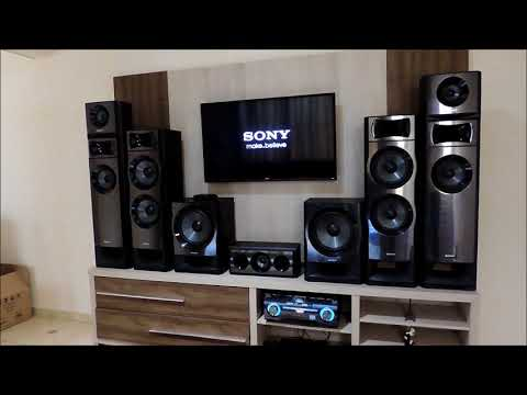 sony muteki ht m77 7 2 channel sound test doovi. Black Bedroom Furniture Sets. Home Design Ideas