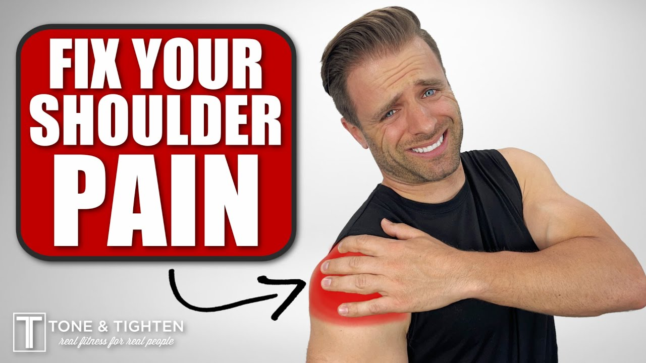 Immediate Relief! Home Exercises For Shoulder Pain